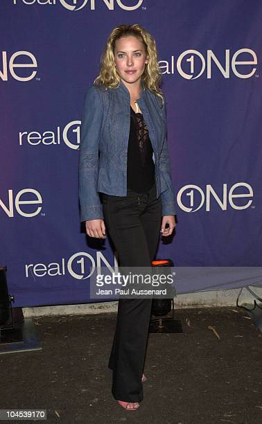 Mercedes McNab during RealOne Launch Party at Pacific Design Center in West Hollywood California United States