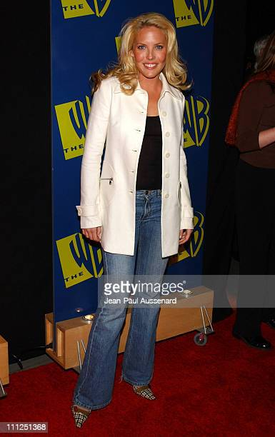 Mercedes McNab during The WB Network's 2004 All Star Party at Hollywood Highland in Hollywood California United States