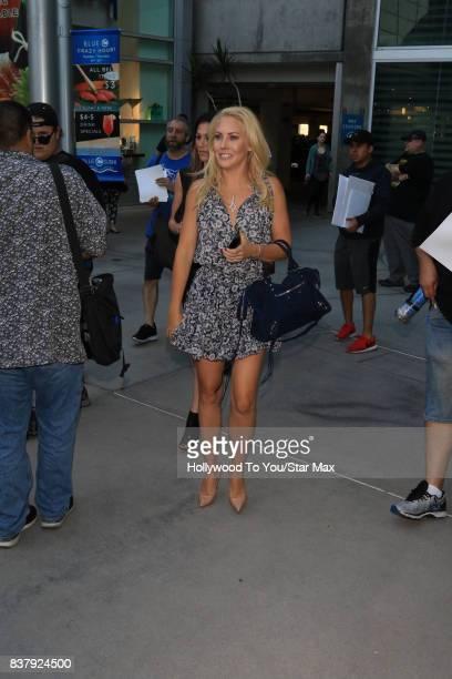 Mercedes McNab is seen on August 22 2017 in Los Angeles CA