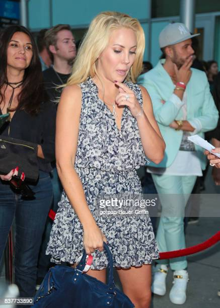 Mercedes McNab is seen on August 22 2017 in Los Angeles California