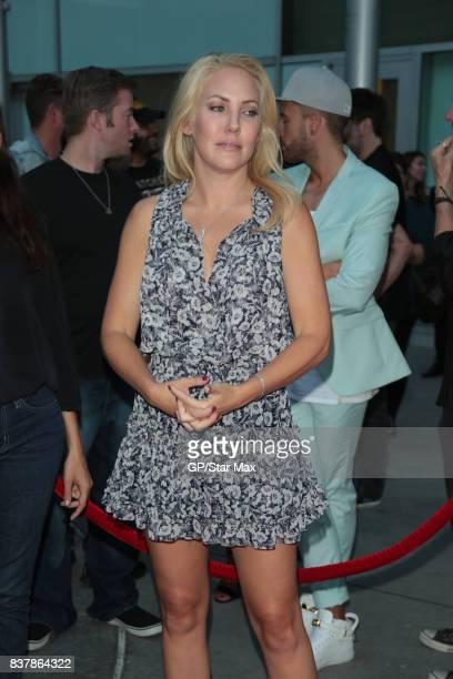 Mercedes McNab is seen on August 22 2017 in Los Angeles