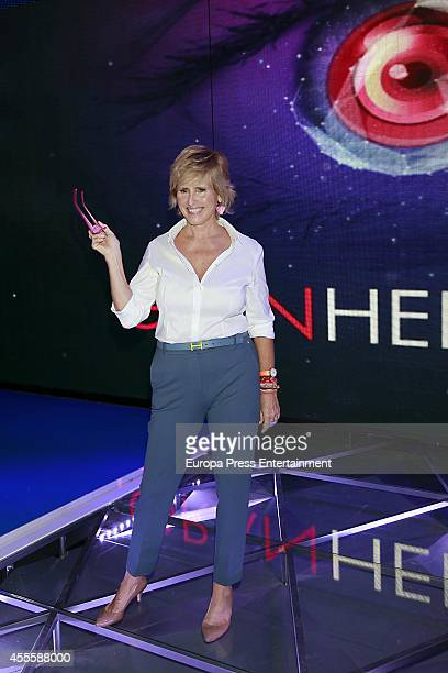 Mercedes Mila attends 'Gran Hermano' programme presentation on September 16 2014 in Madrid Spain