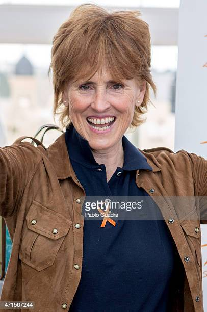 Mercedes Mila attends the new Basmar Special Care swimwear presentation at the Room Mate hotel on April 29 2015 in Madrid Spain