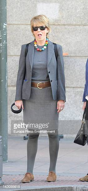 Mercedes Mila is seen on March 28 2012 in Madrid Spain