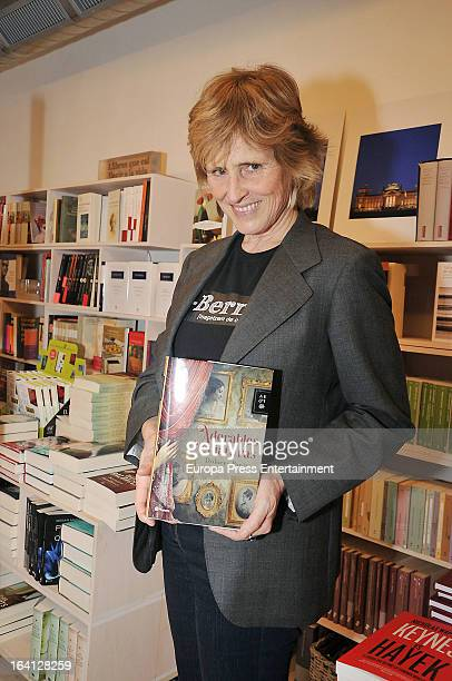 Mercedes Mila presents the book 'Adorables Criaturas' written by Dolores Payas on March 19 2013 in Barcelona Spain