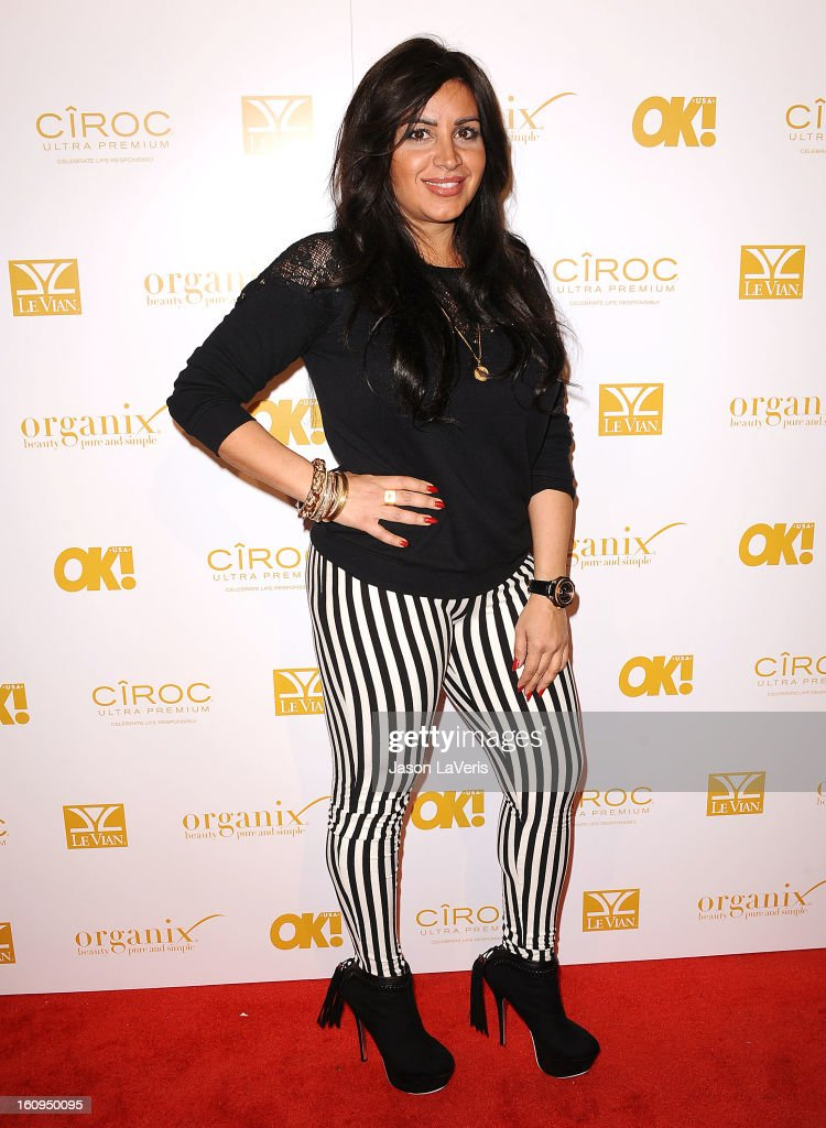 Mercedes 'MJ' Javid attends OK! Magazine's pre-Grammy event at Sound on February 7, 2013 in Hollywood, California.