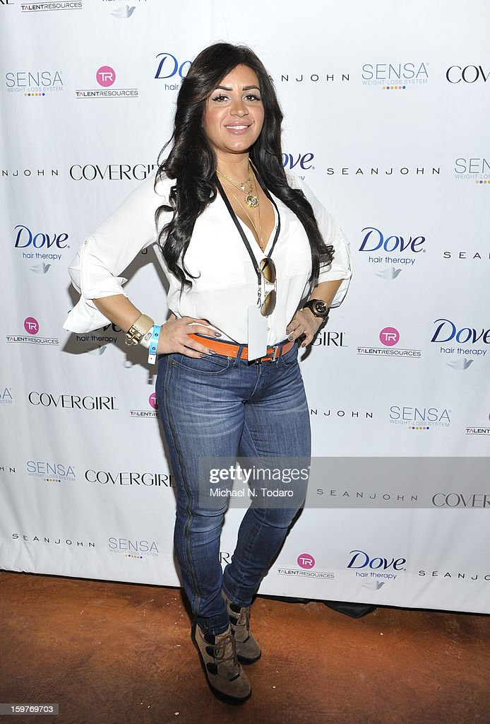 Mercedes MJ Javid attends the TR Suites Daytime Lounge - Day 2 on January 19, 2013 in Park City, Utah.