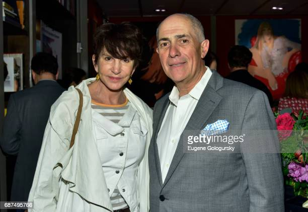Mercedes Ruehl and Michael Namer attend the HGU New York Sag Harbor Cinema Fundraiser at HGU New York on May 23 2017 in New York City
