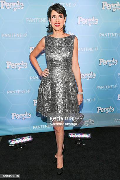 Mercedes Soler arrive at the Estrellas Del Ano De People En Espanol party at The James Royal Palm Hotel on December 12 2013 in Miami Florida