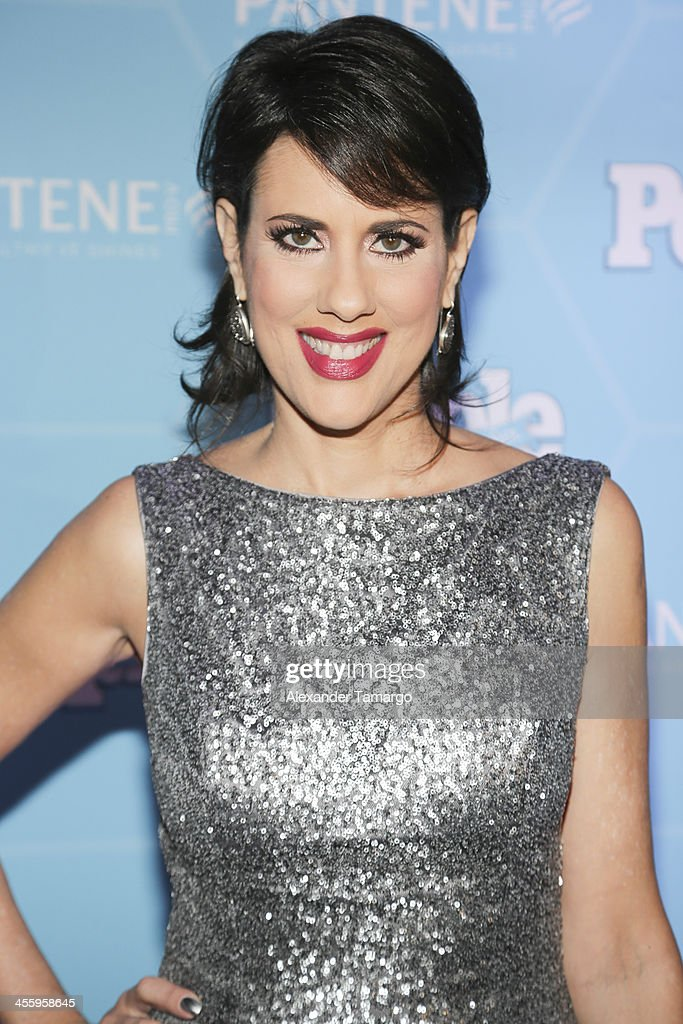 Mercedes Soler arrive at the Estrellas Del Ano De People En Espanol party at The James Royal Palm Hotel on December 12, 2013 in Miami, Florida.