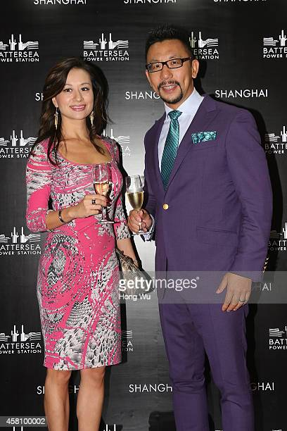 Mercedes Yao and Sinclair Lu attend the Battersea Power Station launch party to celebrate the launch of its Global Tour at The House of Roosevelt on...