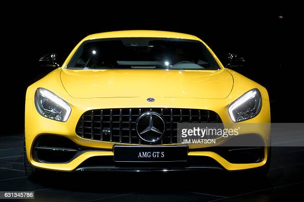 MercedesAMG GT S is shown during the 2017 North American International Auto Show in Detroit Michigan January 9 2017 / AFP / JIM WATSON