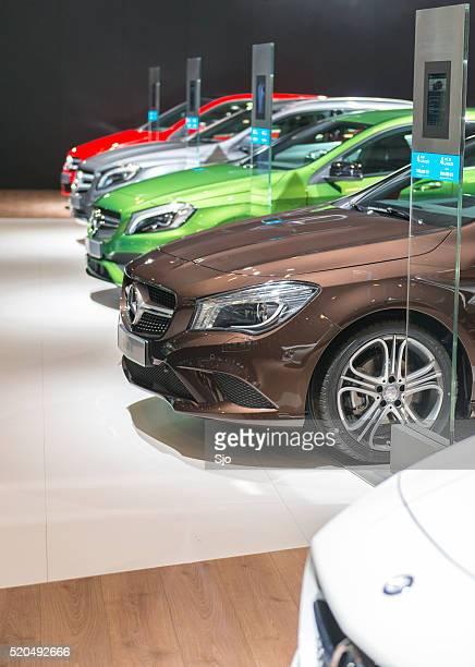 Mercedes-Benz CLA, A-class and B-class luxury cars