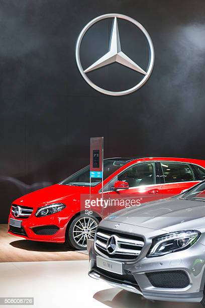 Mercedes-Benz CLA,and B-class luxury cars