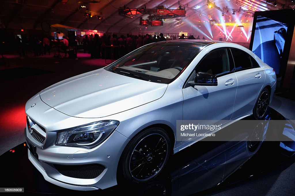 Mercedes-Benz CLA-Class seen during the ESPN The Magazine's 'NEXT' Event at Tad Gormley Stadium on February 1, 2013 in New Orleans, Louisiana.