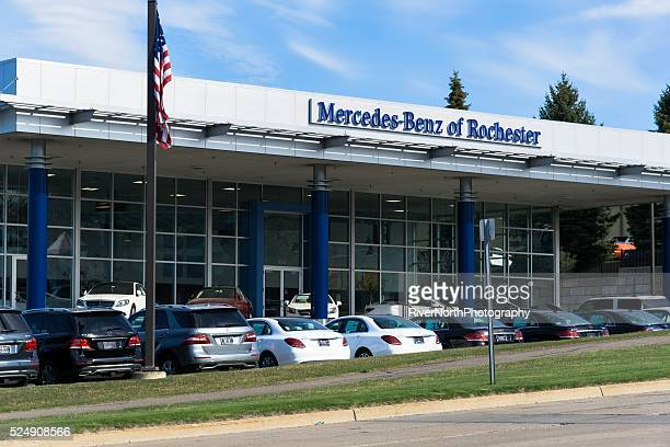 Us car showroom stock photos and pictures getty images for Mercedes benz dealers houston