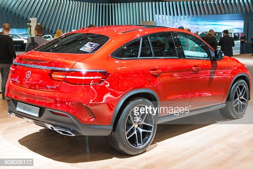 Mercedes benz gle stock photos and pictures getty images for Mercedes benz cross over