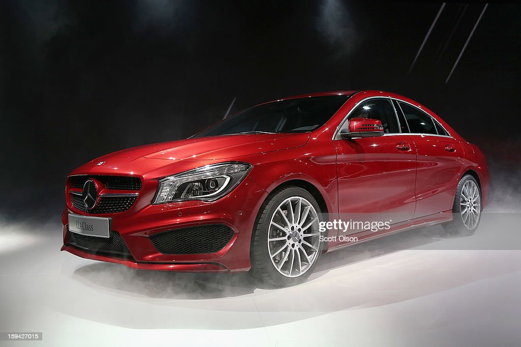 Mercedes-Benz introduces the 2014 CLA at the North American International Auto Show on January 13, 2013 in Detroit, Michigan. The auto show will be open to the public January 19-27.