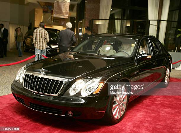MercedesBenz Maybach 57 S on it's first public display at MercedesBenz of Beverly Hills