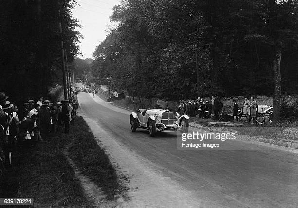 MercedesBenz Open 4seater SS Vehicle Reg No 111A11077 Event Entry No 149 Driver WentzelMosau Baron East of La Capelle Boulogne Motor Week Date 39928...