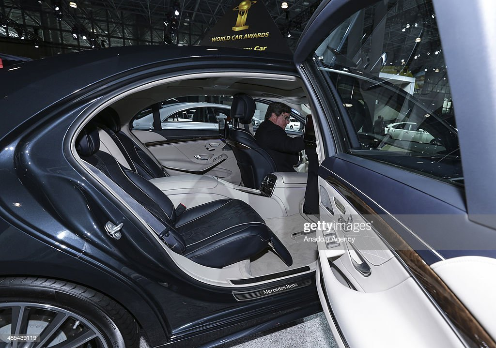 Mercedes-Benz S-Class declared 2014 World Luxury Car award during the 2014 New York International Auto Show at the Jacob Javits Center New York, United States on April 17, 2014.