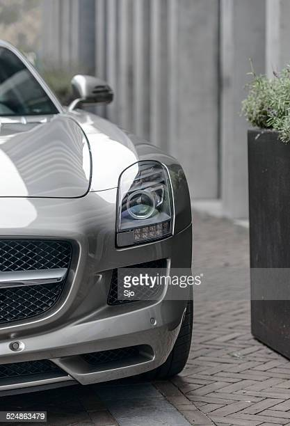 Mercedes-Benz SLS AMG sports car front view