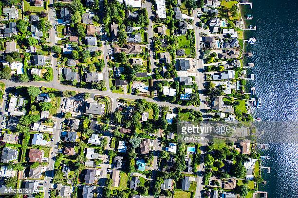 Mercer Island Community Aerial View
