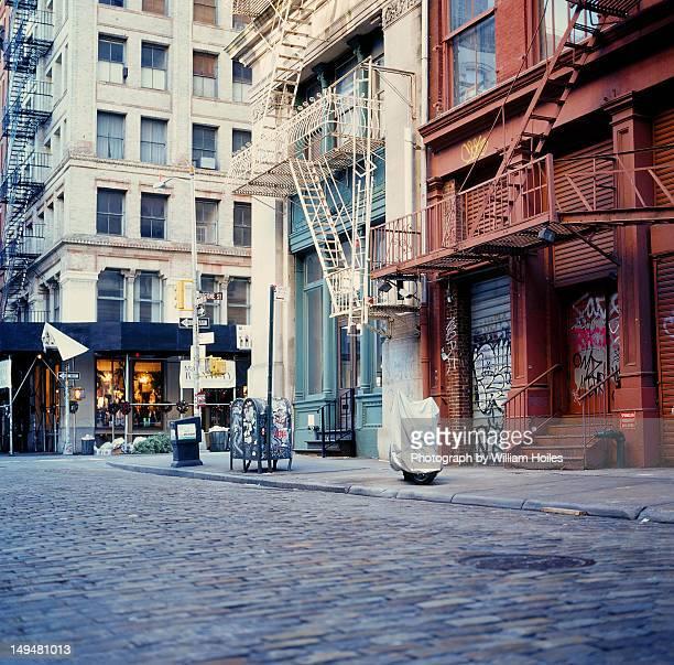 Mercer street in morning