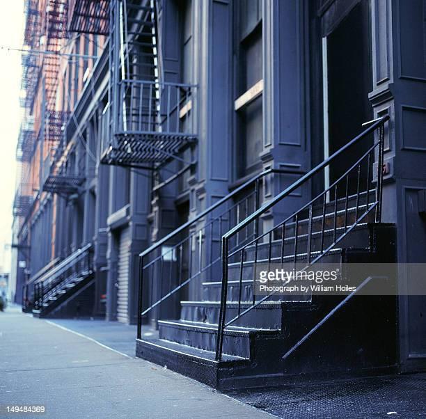 Mercer street steps