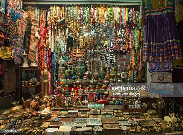 Merchandise in a Middle eastern Souk