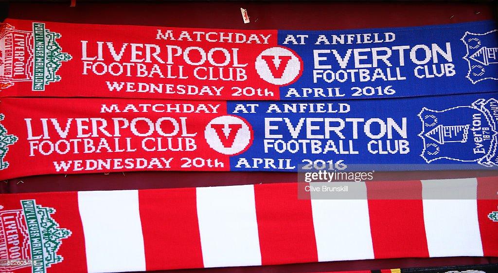 The Merseyside derby