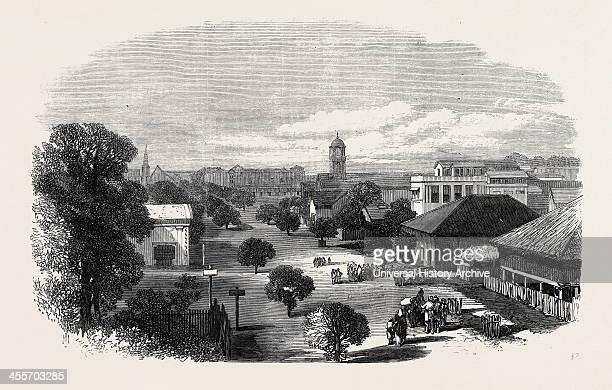 Merchant Street Rangoon British Burmah 1869