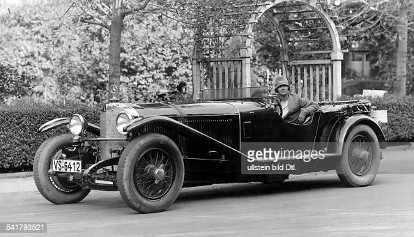 Merck Ernes Automobile Racer Germany 1885 1927 In Her Mercedes