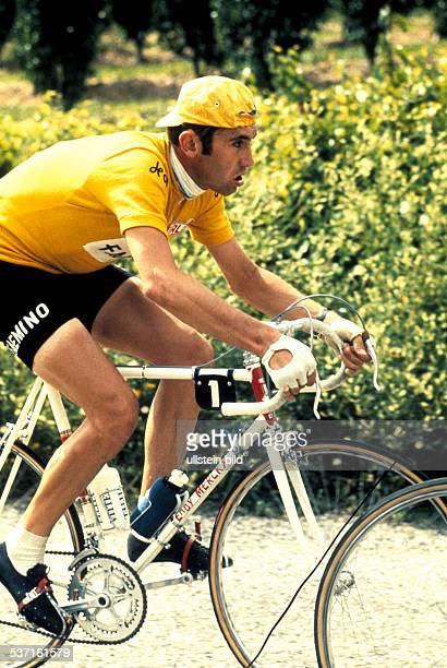 Merckx Eddy * Radrennfahrer Belgien Sieger der Tour de France fuenf mal Sieger der Giro D'Italia fuenf mal in einem Rennen undatiert