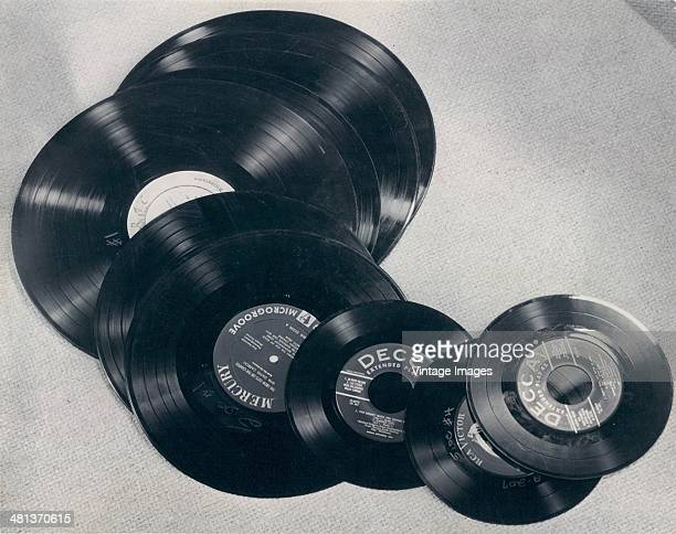 Mercury Decca and RCA phonograph records 1955