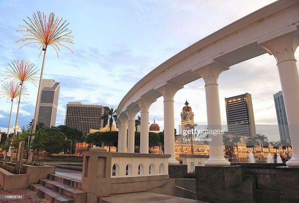 Merdeka Square and Sultan Abdul Samad Building
