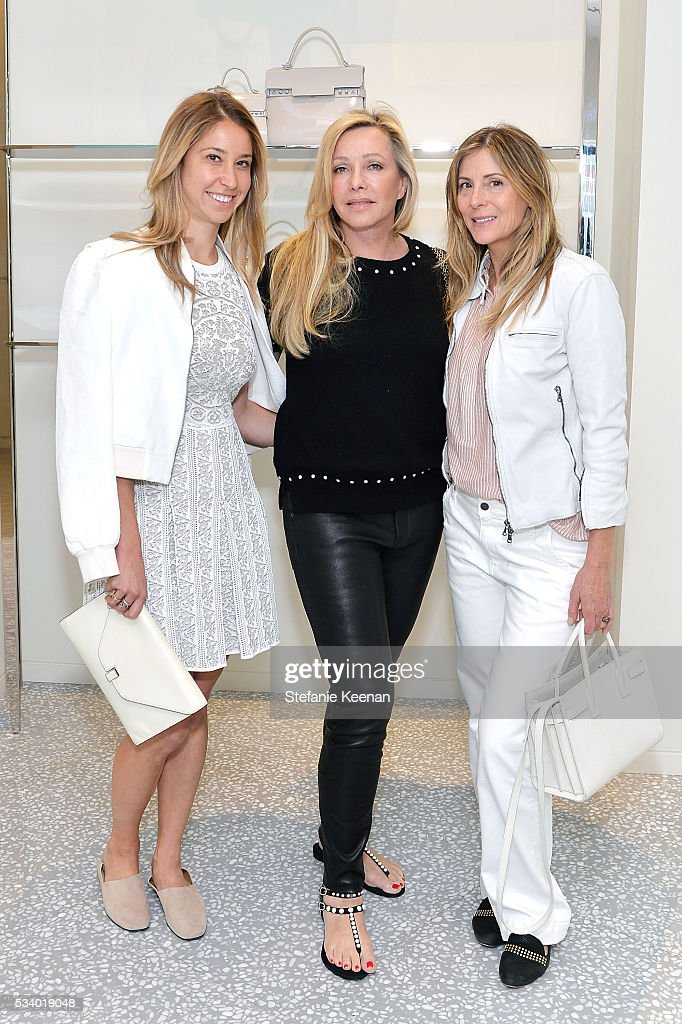 Meredith Darrow, Lauren King and Jena King attend Barneys New York, Ann Dexter-Jones, And Annabelle Dexter-Jones Host A Private Luncheon For Delvaux at Barneys New York Beverly Hills on May 24, 2016 in Beverly Hills, California.