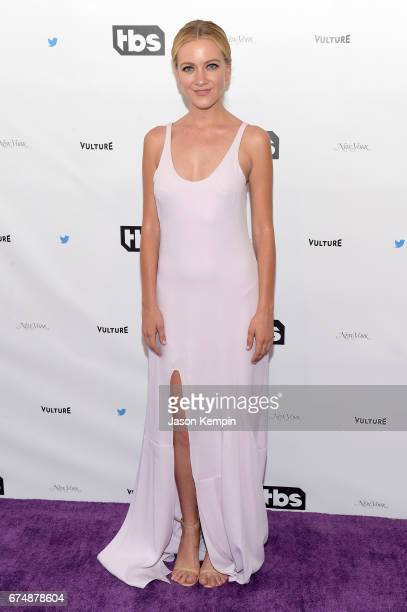 Meredith Hagner attends Full Frontal With Samantha Bee's Not The White House Correspondents' Dinner at DAR Constitution Hall on April 29 2017 in...