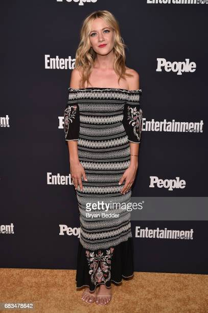 Meredith Hagner of Search Party attends the Entertainment Weekly and PEOPLE Upfronts party presented by Netflix and Terra Chips at Second Floor on...