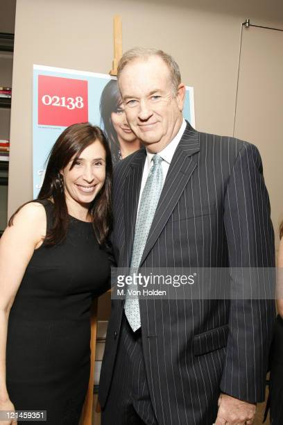 Meredith Kopit and Bill O'Reilly during '02138' Magazine Launch Party Honoring the 'Harvard 100' at Core Club in New York City New York United States