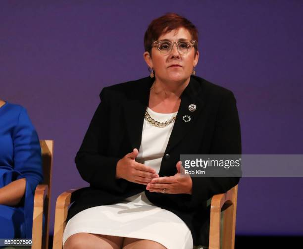 Meredith Maskara CEO Girl Scouts of Greater New York attends Fast Forward Women's Innovation Forum at The Metropolitan Museum of Art on September 23...