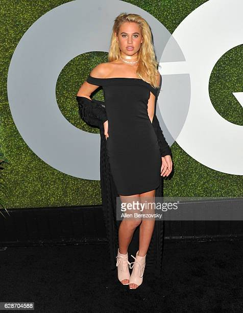 Meredith Mickelson attends GQ Men of the Year Party at Chateau Marmont on December 8 2016 in Los Angeles California