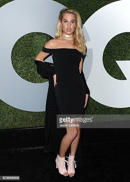 Meredith Mickelson attends the GQ Men of the Year party at Chateau Marmont on December 8 2016 in Los Angeles California