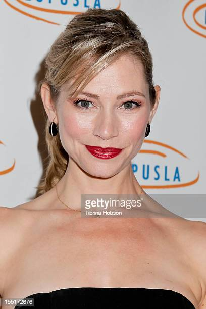 Meredith Monroe attends the 10th annual Lupus LA Hollywood Bag Ladies Event at the Beverly Wilshire Four Seasons Hotel on November 1 2012 in Beverly...