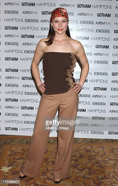 Meredith Monroe during 2rd Annual 'Hollywood Bag Ladies' Lupus Luncheon Presented by LA Confidential Gotham Magazines at Beverly Hills Hotel in...