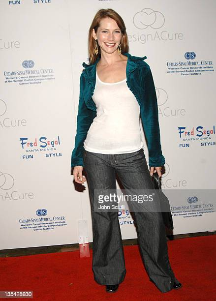 Meredith Monroe during Fred Segal and the CedarsSinai Medical Center Women's Cancer Research Institute Host 'Design A Cure' Arrivals at Private...