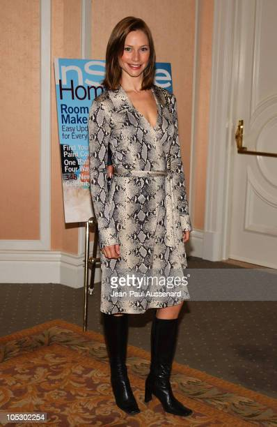 Meredith Monroe during Lupus LA and InStyle Present 'The Old Bags Lupus Luncheon' at Beverly Hills Hotel in Beverly Hills California United States