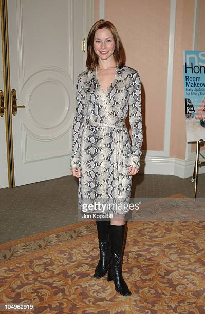 Meredith Monroe during Lupus LA InStyle Magazine Present 'The Old Bags Lupus Luncheon' at The Beverly Hills Hotel in Beverly Hills California United...
