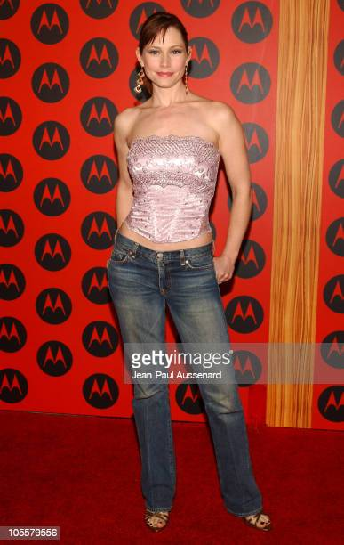 Meredith Monroe during Motorola's 6th Anniversary Party Benefiting Toys for Tots Arrivals at Music Box Theatre in Hollywood California United States
