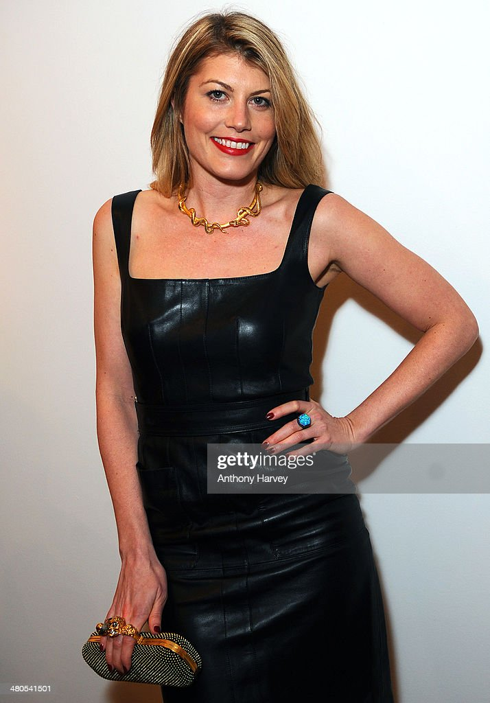 Meredith Ostrom attends the Annual Schools auction dinner at Burlington House on March 25, 2014 in London, England.